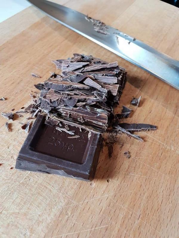 Σπαμε τη σοκολατα