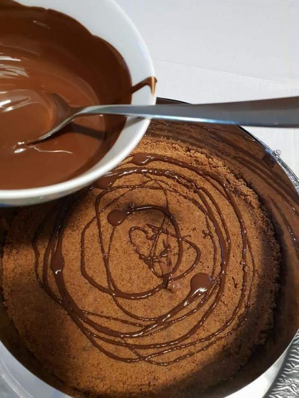 Λιωνω σοκολατα