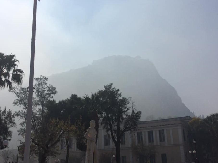 Νέφος από Πυρηνελαιουργεία στο Ναύπλιο
