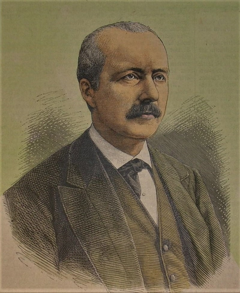 Εικ.1 Ερρίκος Schliemann (1871)
