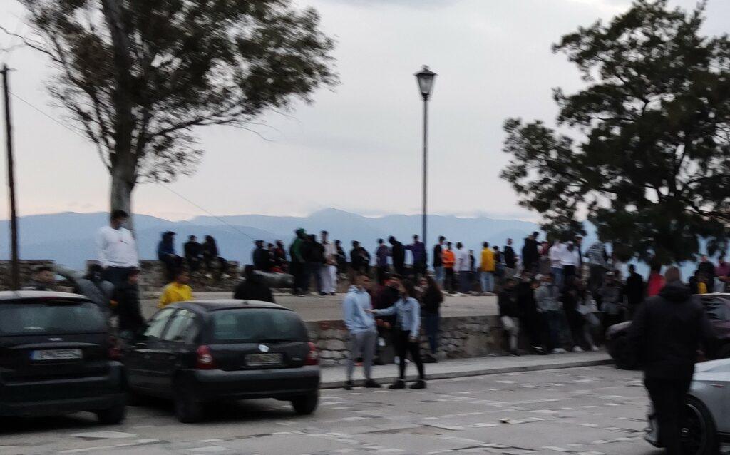 Συνωστισμός στο Ναύπλιο