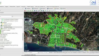 Ανάπτυξη συστήματος GIS για τις υποδομές του Δήμου